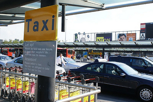 Taxi's Schiphol
