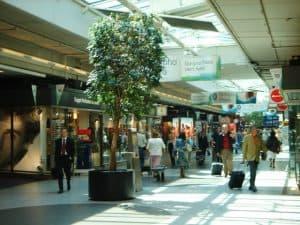 Winkels op Schiphol Airport